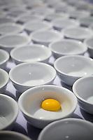Brumadinho_MG, Brasil...Detalhe de gema de ovo para o preparo de receitas no Festival de gastronomia Sabor e Saber...Detail of yolk to prepare recipes in the gastronomy festival Sabor e Saber...FOTO: BRUNO MAGALHAES / NITRO.