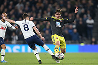 Jannik Vestergaard of Southampton and Harry Winks of Tottenham Hotspur during Tottenham Hotspur vs Southampton, Emirates FA Cup Football at Tottenham Hotspur Stadium on 5th February 2020