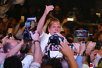 SÃO PAULO, SP, 28.07.2018: ELEIÇÕES-CONVENÇÃO-DORIA - Convenção Estadual do PSDB oficializa a candidatura de João Doria ao governo do estado de São Paulo e o vice Rodrigo Garcia do Progresistas, da coligação Acelera São Paulo, na Expo Barra Funda, zona oeste da capital, neste sábado, 28. A convenção esteve presente o pré-candidato a presidência da República Geraldo Alckmin (PSDB). (Foto: Fábio Vieira/FotoRua)