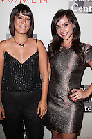 "BEVERLY HILLS, CA, USA - MAY 10: Kimberly McCullough, Danielle Harris at the ""An Evening With Women"" 2014 Benefiting L.A. Gay & Lesbian Center held at the Beverly Hilton Hotel on May 10, 2014 in Beverly Hills, California, United States. (Photo by Celebrity Monitor)"