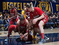 Berkeley, CA - January 10, 2016: CAL Women's Basketball's 79-84 loss against Utah Utes at Haas Pavilion.