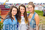 Kate Courtney (Beaufort) Molly Sullivan (Ballyhar) Ann Saoirse Griffin (Glenbeigh) pictured at Glenbeigh races on Sunday last.