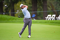 Jon Rahm (ESP) hits his second shot on 7 during Rd3 of the 2019 BMW Championship, Medinah Golf Club, Chicago, Illinois, USA. 8/17/2019.<br /> Picture Ken Murray / Golffile.ie<br /> <br /> All photo usage must carry mandatory copyright credit (© Golffile   Ken Murray)