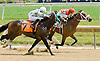 Gagne winning at Delaware Park on 6/13/12
