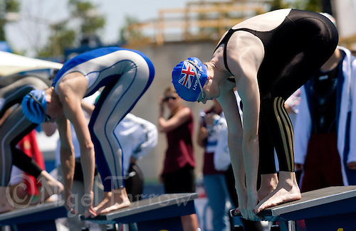 02 JUN 2008 - BUDAPEST, HUN - Katy Livingston (GBR) - Modern Pentathlon Team Relay World Championships. (PHOTO (C) NIGEL FARROW)