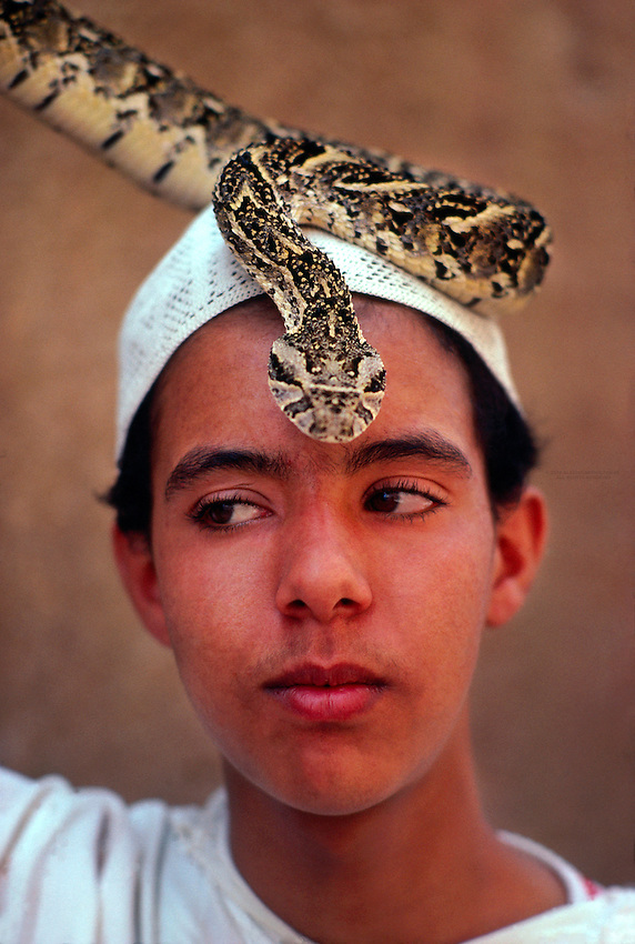Snakecharmer, Marrakech, Morocco