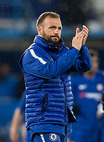 Jody Morris Coach of Chelsea U18 at full time during the FA Youth Cup FINAL 1st leg match between Chelsea U18 and Arsenal U18 at Stamford Bridge, London, England on 27 April 2018. Photo by Andy Rowland.
