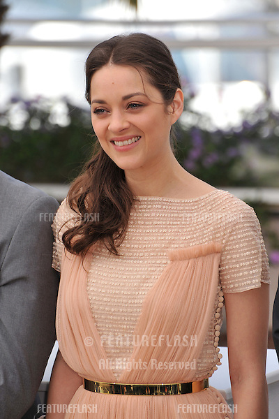 "Marion Cotillard at photocall for her new movie ""Rust & Bone"" in competition at the 65th Festival de Cannes..May 17, 2012  Cannes, France.Picture: Paul Smith / Featureflash"