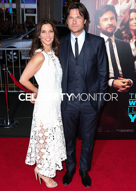 HOLLYWOOD, LOS ANGELES, CA, USA - SEPTEMBER 15: Amanda Anka, Jason Bateman arrive at the Los Angeles Premiere Of Warner Bros. Pictures' 'This Is Where I Leave You' held at the TCL Chinese Theatre on September 15, 2014 in Hollywood, Los Angeles, California, United States. (Photo by Xavier Collin/Celebrity Monitor)