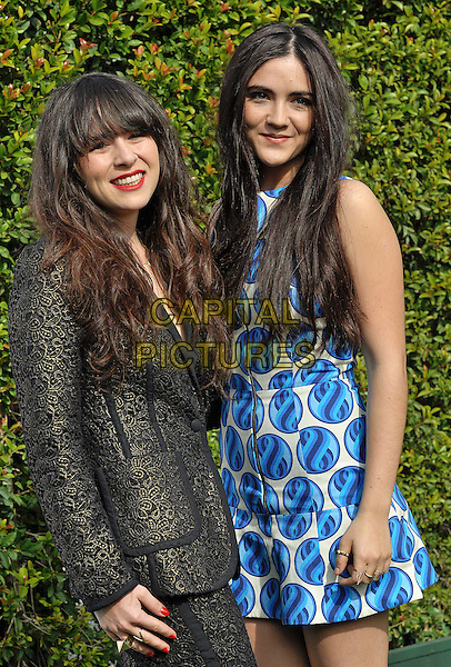 09 January 2014 - West Hollywood, California - Isabelle and Madeline Fuhrman. LoveGold honors Michelle Dockery for a day of gold and glamor at Chateau Marmont . <br /> CAP/ADM/CC<br /> &copy;Chew/AdMedia/Capital Pictures