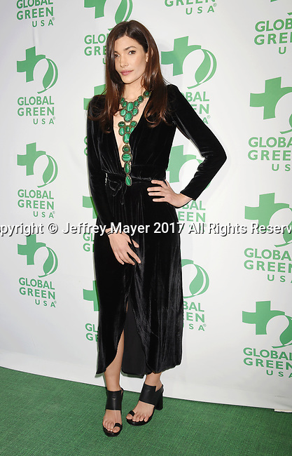 LOS ANGELES, CA - FEBRUARY 22: Julia Jackson of Jackson Family Wines arrives at the 14th Annual Global Green Pre-Oscar Gala at TAO Hollywood on February 22, 2017 in Los Angeles, California.