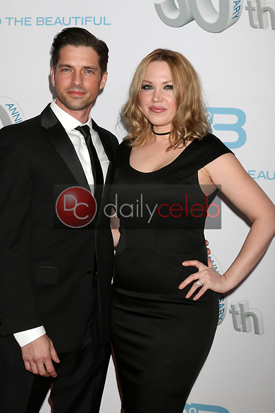 "Scott Bailey, Adrienne Frantz<br /> at the ""The Bold and The Beautiful"" 30th Anniversary Party, Clifton's Downtown, Los Angeles, CA 03-18-17<br /> David Edwards/DailyCeleb.com 818-249-4998"