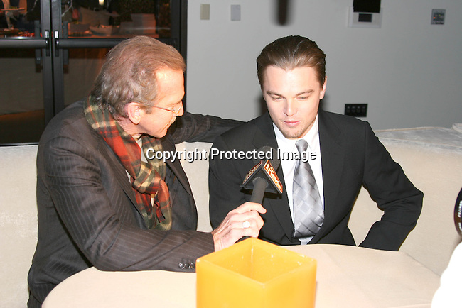 Pat O'Brien interviews Leonardo DiCaprio for &quot;The Insider&quot;<br />**EXCLUSIVE**<br />Miramax Films Presents -&ldquo;The Aviator&rdquo; Post Premiere Party <br />Annex Restaurant<br />Hollywood, CA, USA<br />Wednesday, December 1, 2004<br />Photo By Selma Fonseca /Celebrityvibe.com/Photovibe.com, <br />New York, USA, Phone 212 410 <br />5354, email:sales@celebrityvibe.com