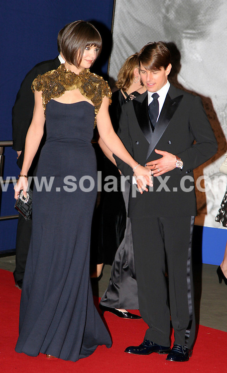 **ALL ROUND PICTURES FROM SOLARPIX.COM**.**SYNDICATION RIGHTS FOR UK AND SPAIN ONLY**.The 59th Annual Bambi awards 2007  in Dusseldorf in Germany..This pic:KATIE HOLMES,TOM CRUISE.JOB REF:5426-CPR        DATE:29_11_07.**MUST CREDIT SOLARPIX.COM OR DOUBLE FEE WILL BE CHARGED* *UNDER NO CIRCUMSTANCES IS THIS IMAGE TO BE REPRODUCED FOR ANY ONLINE EDITION WITHOUT PRIOR PERMISSION*