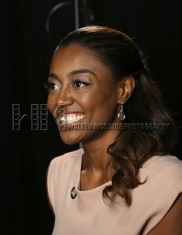 Patina Miller  'In The Spotlight' at the 2013 Tony Awards Meet The Nominees Junket  at the Millennium Broadway Hotel in New York on 5/1/2013...