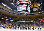 - The Boston College Eagles defeated the Providence College Friars 4-2 in their Hockey East semi-final on Friday, March 16, 2012, at TD Garden in Boston, Massachusetts.