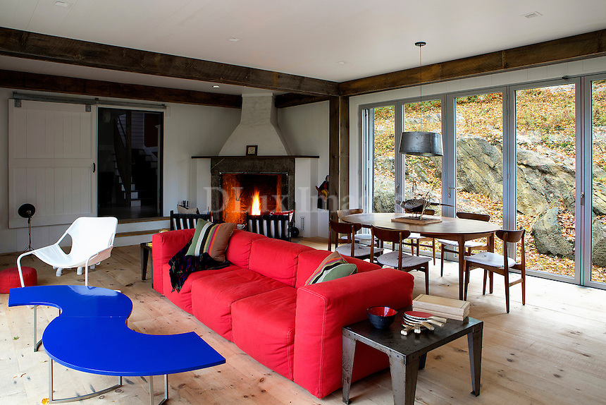 cottage style living room