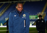 Blackburn Rovers' Ryan Nyambe pictured before the match <br /> <br /> Photographer Andrew Kearns/CameraSport<br /> <br /> The EFL Sky Bet Championship - Reading v Blackburn Rovers - Wednesday 13th February 2019 - Madejski Stadium - Reading<br /> <br /> World Copyright © 2019 CameraSport. All rights reserved. 43 Linden Ave. Countesthorpe. Leicester. England. LE8 5PG - Tel: +44 (0) 116 277 4147 - admin@camerasport.com - www.camerasport.com