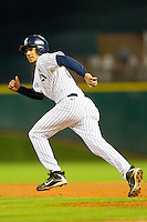 Anthony Rendon #23 of the Rice Owls takes off for second base against the Texas A&M Aggies at Minute Maid Park on March 5, 2011 in Houston, Texas.  Photo by Brian Westerholt / Four Seam Images