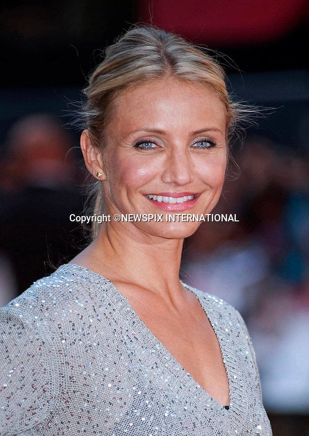 """CAMERON DIAZ.Attends the UK premiere of Knight and Day, London_England_22/07/2010..Mandatory Photo Credit: ©Dias/Newspix International..**ALL FEES PAYABLE TO: """"NEWSPIX INTERNATIONAL""""**..PHOTO CREDIT MANDATORY!!: NEWSPIX INTERNATIONAL(Failure to credit will incur a surcharge of 100% of reproduction fees)..IMMEDIATE CONFIRMATION OF USAGE REQUIRED:.Newspix International, 31 Chinnery Hill, Bishop's Stortford, ENGLAND CM23 3PS.Tel:+441279 324672  ; Fax: +441279656877.Mobile:  0777568 1153.e-mail: info@newspixinternational.co.uk"""