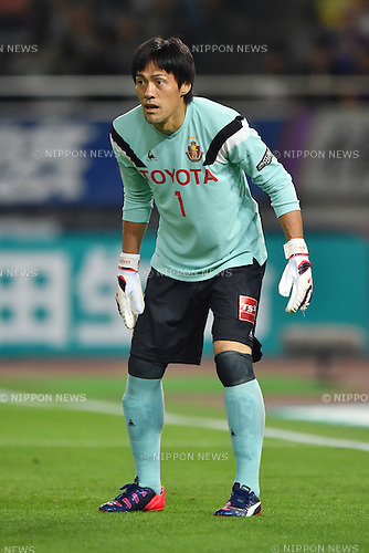 Seigo Narazaki (Grampus), MAY 23, 2015 - Football / Soccer : 2015 J1 League 1st stage match between F.C.Tokyo 0-1 Nagoya Grampus at Ajinomoto Stadium in Tokyo, Japan. (Photo by AFLO)