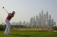 Ian Poulter (ENG) on the 8th during Round 2 of the Omega Dubai Desert Classic, Emirates Golf Club, Dubai,  United Arab Emirates. 25/01/2019<br /> Picture: Golffile | Thos Caffrey<br /> <br /> <br /> All photo usage must carry mandatory copyright credit (© Golffile | Thos Caffrey)
