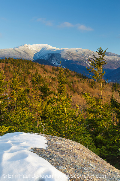 Mount Lafayette from Bald Mountain in the White Mountains, New Hampshire.
