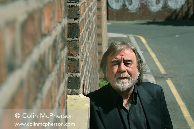 Acclaimed English playwright and dramatist Alan Bleasdale, pictured in his native Liverpool as a new retrospective compilation of his television dramas is released on DVD.