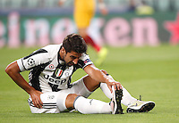 Calcio, Champions League: Juventus vs Siviglia: Torino, Juventus Stadium, 14 settembre 2016. <br /> Juventus' Sami Khedira reacts during the Champions League Group H football match between Juventus and Sevilla at Turin's Juventus Stadium, 16 September 2016.<br /> UPDATE IMAGES PRESS/Isabella Bonotto