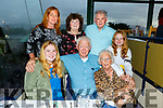 Enjoying the night out in the Kingdom Greyhound Track on Friday night. <br /> Front l-r, Niamh Carey, Willie and Marie Purtill.<br /> Back l-r, Siobhan Carey, Kitty and Jimmy Purtill and Aine Carey.