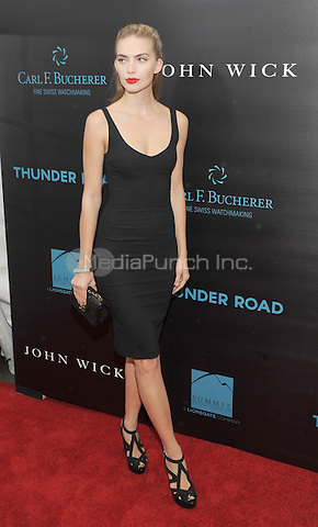 New York, NY- October 13: Emily Senko attends the Summit Entertainment and Thunder Road Pictures New York screening of John Wick at the Regal Union Square on October 13, 2014 in New York City. Credit: John Palmer/MediaPunch