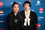 Luna Mary and Rossy de Palma attends to the photocall of the Gala Sida at Palacio de Cibeles in Madrid. November 21, 2016. (ALTERPHOTOS/Borja B.Hojas)