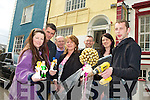 NEW BUSINESS CENTRE: Local businesses are pooling together with a new business centre in Princes Quay. Pictured from l-r: Sinead and Mike McCarthy, Maurice O'Keeffe, Ann Hennessy (NEKD), Seamus O'Hara (Manager NEKD), Emma Higinson and Declan Flavey.