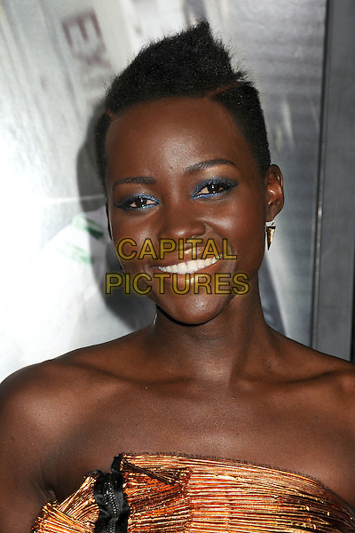 LOS ANGELES, CA - FEBRUARY 24 - Lupita Nyong'o. &quot;Non-Stop&quot; Los Angeles Premiere held at the Regency Village Theatre. <br /> CAP/ADM/BP<br /> &copy;Byron Purvis/AdMedia/Capital Pictures
