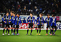 Gamba Osaka team group,.MARCH 25, 2011 - Football / Soccer :.Gamba Osaka players look dejected after the 2012 J.League Division 1 match between Gamba Osaka 1-2 Jubilo Iwata at Expo '70 Stadium in Osaka, Japan. (Photo by AFLO)