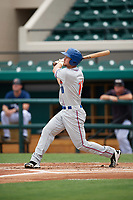 St. Lucie Mets catcher Patrick Mazeika (11) at bat during a game against the Lakeland Flying Tigers on June 11, 2017 at Joker Marchant Stadium in Lakeland, Florida.  Lakeland defeated St. Lucie 1-0.  (Mike Janes/Four Seam Images)