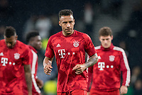 Corentin Tolisso of Bayern Munich pre match during the UEFA Champions League group match between Tottenham Hotspur and Bayern Munich at Wembley Stadium, London, England on 1 October 2019. Photo by Andy Rowland.