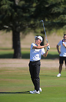 Jang Hyun Lee plays to the 5th green. Final day of the Jennian Homes Charles Tour / Brian Green Property Group New Zealand Super 6s at Manawatu Golf Club in Palmerston North, New Zealand on Sunday, 8 March 2020. Photo: Dave Lintott / lintottphoto.co.nz