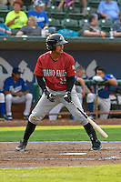 Yeison Melo (23) of the Idaho Falls Chukars at bat against the Ogden Raptors in Pioneer League action at Lindquist Field on September 3, 2016 in Ogden, Utah. The Chukars defeated the Raptors 3-0. (Stephen Smith/Four Seam Images)