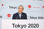 Tsunekazu Takeda, MARCH 28, 2016 : Ajinomoto held a press conference in Tokyo to announce that it had entered into a partnership agreement with the Tokyo Organising Committee of the 2020 Olympic and Paralympic Games and as such has become an official partner for Tokyo 2020. (Photo by YUTAKA/AFLO SPORT)