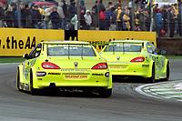 2001 British Touring Car Championship. #44 Steve Soper (GBR) & #8 Matt Neal (GBR). Peugeot Sport UK. Peugeot 406 Coupé.
