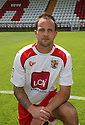 Luke Foster of Stevenage  at the Stevenage FC team photo shoot at The Lamex Stadium, Broadhall Way, Stevenage on Saturday, 24th July, 2010.© Kevin Coleman 2010