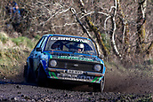 10th February 2019, Galway, Ireland; Galway International Rally; Damien Tourish and Domhnall McAlaney (Ford Escort Mk2) won the National category