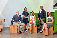 John Paolini, partner &amp; executive creative director,<br /> Nancy Schulman, partner &amp; executive director of strategy, Barbara Apple Sullivan, founder &amp; managing partner, Val McGovern, partner &amp; CFO, Nicole Ferry, partner &amp; executive director of strategy<br /> <br /> Photo by Danny Ghitis