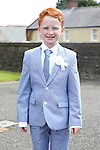 Noah O'Toole pictured on his  communion day in Duleek.