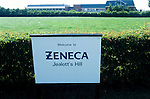 Astra Zeneca's head quarters  at Jealot's Hill near Basingstoke.<br /> <br /> where GM Test wheat grown is grown.