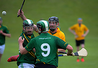 Action from the Irish Fest hurling festival match between Wellington and Hutt Valley at Ian Galloway Park in Wellington, New Zealand on Saturday, 17 November 2018. Photo: Dave Lintott / lintottphoto.co.nz