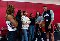 USWNT Houston Rockets Visit, February 1, 2020