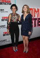 03 Augst 2017 - Hollywood, California - Jenny Slate, Olivia Nita. Premiere Of Amazon's 'Comrade Detective' held at ArcLight Hollywood. Photo Credit: PMA/AdMedia