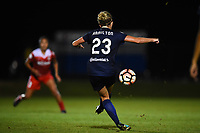 Boyds, MD - Wednesday August 30, 2017: Kristen Hamilton during a regular season National Women's Soccer League (NWSL) match between the Washington Spirit and the North Carolina Courage at Maureen Hendricks Field, Maryland SoccerPlex.